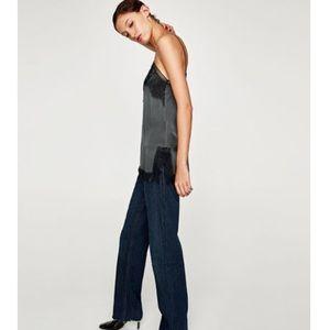 82f532f69008 Zara Tops -  Zara  Lace Trim Camisole
